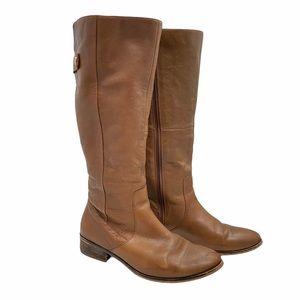 Aldo Brown Knee High Boots 8.5